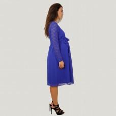 Hamile Abiye Şifon Elbise