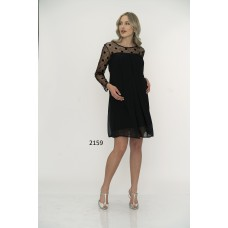 2159 Hamile Şifon Elbise