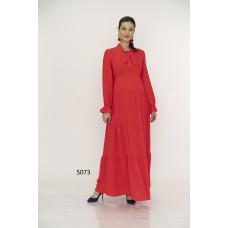 5073 Hamile Tesettür Uzun Elbise