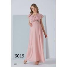 6019 Hamile Şifon / Baby Shower Elbise